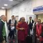 Встреча Ринпоче в аэропорту Иркутска